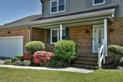 Virginia Beach VA Single Family Home New Listing: $359,000