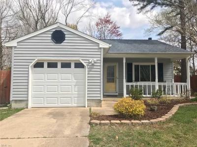 Virginia Beach VA Single Family Home New Listing: $238,000