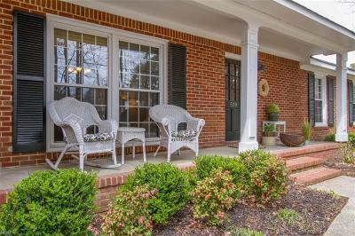 Virginia Beach VA Single Family Home New Listing: $374,900