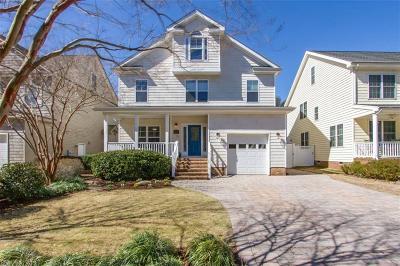 Virginia Beach VA Single Family Home New Listing: $744,500