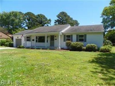 Virginia Beach VA Single Family Home New Listing: $380,000