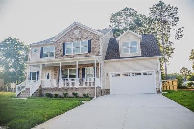 Hampton Single Family Home For Sale: Mm 105 Brogden Ct
