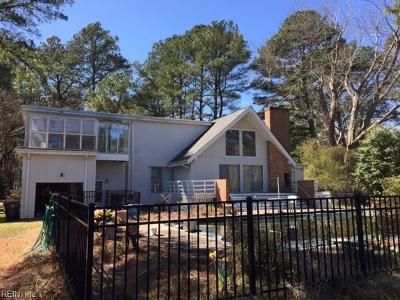 York County Single Family Home For Sale: 114 Bay Tree Beach Rd