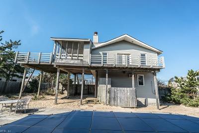 Sandbridge Beach Single Family Home Under Contract: 2836 Sandpiper Rd