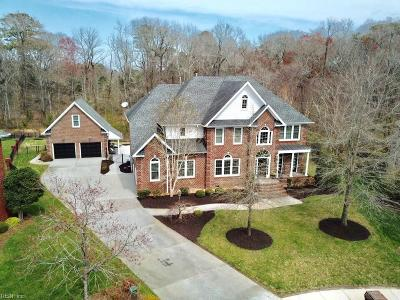 Chesapeake Single Family Home Under Contract: 906 Rockglen Ct