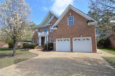 Suffolk Single Family Home Under Contract: 6028 Spinnaker Cove Ct