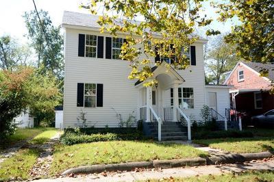 Norfolk Single Family Home For Sale: 1733 Ashland Ave