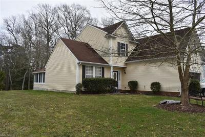 Portsmouth Single Family Home For Sale: 4027 Long Point Blvd