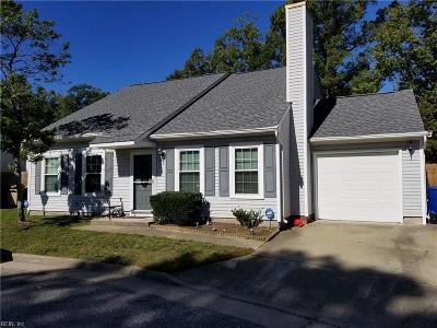 Newport News Single Family Home For Sale: 221 Gate House Rd