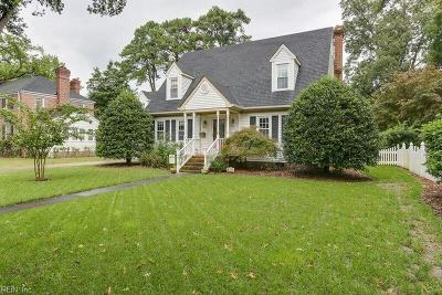 Portsmouth Single Family Home For Sale: 205 Park Rd