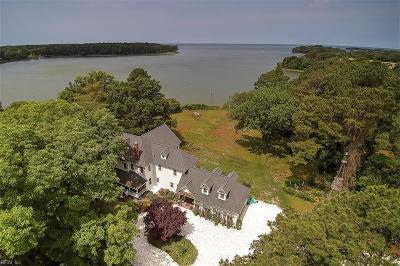 Northampton County, Accomack County Single Family Home For Sale: 13543 Deerfield Trl