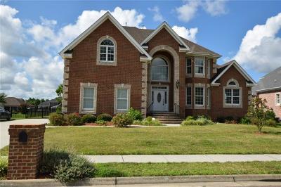 Chesapeake Single Family Home Under Contract: 1313 Simon Dr