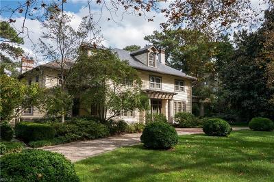 Norfolk Single Family Home For Sale: 7433 Flicker Pt