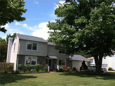 Hampton Single Family Home For Sale: 217 Skipper Ct
