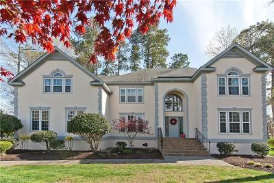 Poquoson VA Single Family Home For Sale: $600,000