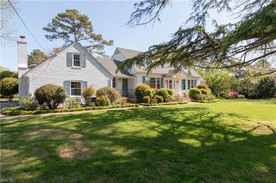Virginia Beach Single Family Home For Sale: 1118 Abingdon Rd