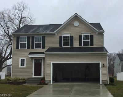 Newport News Single Family Home Under Contract: 565 Colony Rd