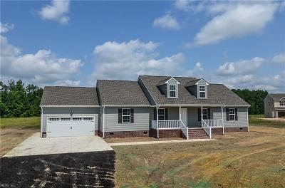 Suffolk Single Family Home For Sale: 5395 Old Myrtle Rd