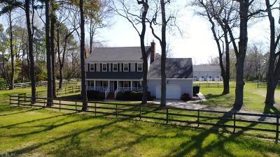 Chesapeake Single Family Home For Sale: 701 Centerville Tpke S