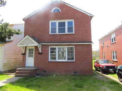 Newport News Multi Family Home For Sale: 39 Ash Ave