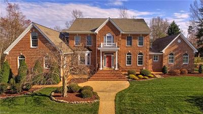 Williamsburg Single Family Home For Sale: 121 Sir Thomas Lunsford Dr