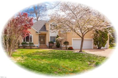 Newport News Single Family Home For Sale: 335 Woodbrook Rn