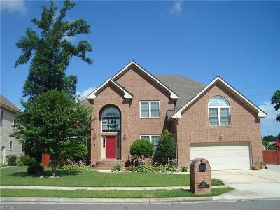 Chesapeake Single Family Home For Sale: 920 Churchill Dr