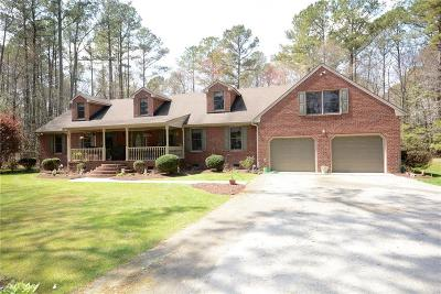 Suffolk Single Family Home For Sale: 1105 Manning Rd