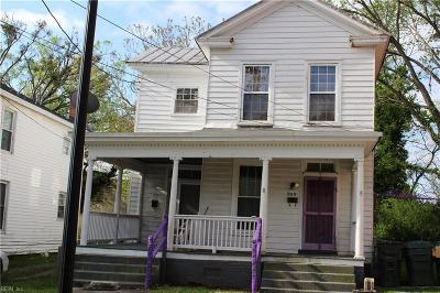 Suffolk Single Family Home Under Contract: 309 Bank St