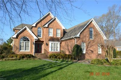 Chesapeake Single Family Home For Sale: 524 River Gate Rd