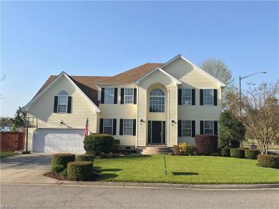 Chesapeake Single Family Home For Sale: 1239 Pacels Way
