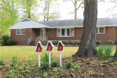 York County Single Family Home For Sale: 117 Mill Ln