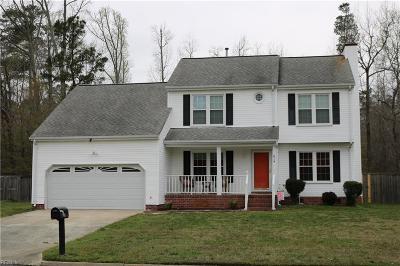 Chesapeake Single Family Home New Listing: 614 Appaloosa Trl