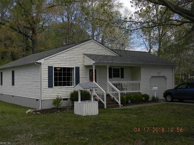 Hampton Single Family Home Under Contract: 701 Bellwood Road Rd
