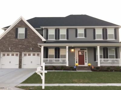 Chesapeake Single Family Home Under Contract: 2204 Orange Root Dr