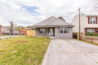 Norfolk Single Family Home New Listing: 2414 Maltby Ave