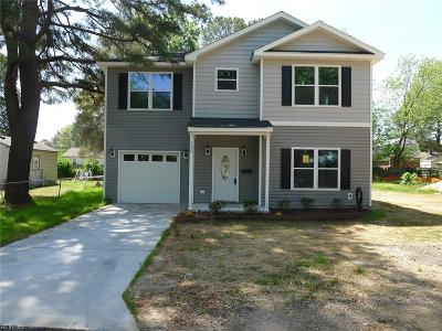 Portsmouth Single Family Home New Listing: 402 Biltmore Pl #A