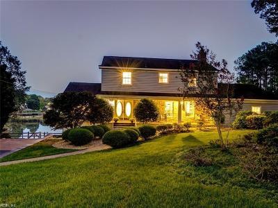 Newport News Single Family Home For Sale: 190 Revelle Dr