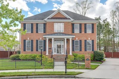 Virginia Beach Single Family Home New Listing: 2309 Nettleford Way