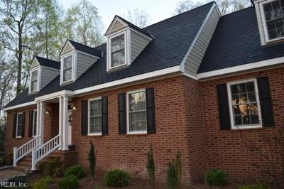 Suffolk Single Family Home For Sale: 1236 Peachtree Dr