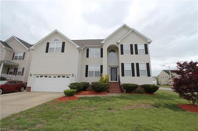 Chesapeake Single Family Home Under Contract: 4213 Quailshire Ct