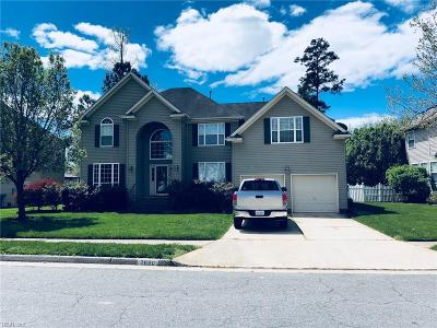 Virginia Beach Single Family Home New Listing: 2680 Springhaven Dr