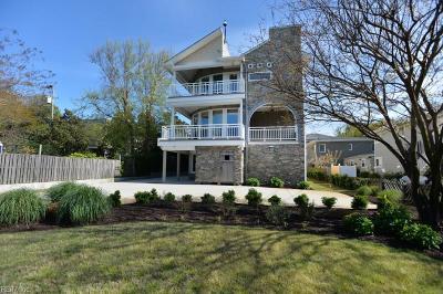 Chesapeake, Hampton, Norfolk, Portsmouth, Suffolk, Virginia Beach Single Family Home New Listing: 108 86th St #B