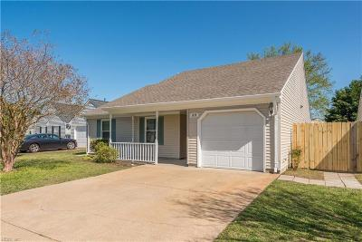 Virginia Beach Single Family Home New Listing: 1876 Eunice Ct