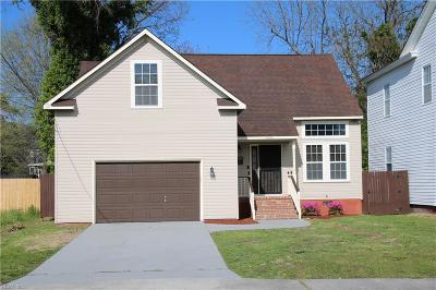 Portsmouth Single Family Home New Listing: 1608 Maple Ave