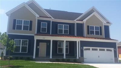 Chesapeake Single Family Home Under Contract: 1230 Rosemarie Way