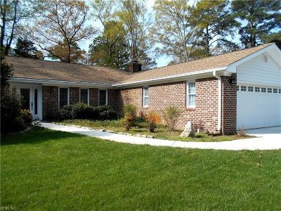 Virginia Beach Single Family Home New Listing: 2625 S Kings Rd
