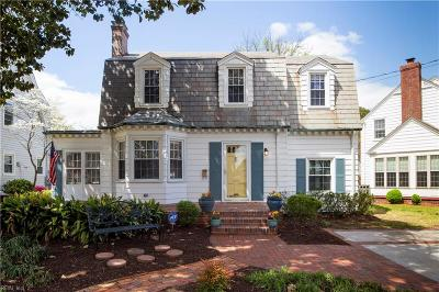 Norfolk Single Family Home New Listing: 6047 Eastwood Ter