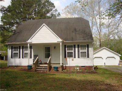 Suffolk Single Family Home New Listing: 1405 Boonetown Rd