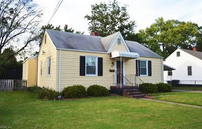 Hampton Single Family Home New Listing: 17 E Gilbert St